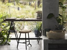 Customize your own desk by choosing a tabletop made from cork,   The Quality of Ikea's New Collection Will Blow You Away!   POPSUGAR Home