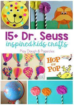 15 Dr Seuss Crafts For Kids