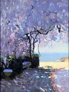 Seaside Painting by Russian Artist Bato Dugarzhapov Contemporary Landscape, Abstract Landscape, Contemporary Artists, Landscape Paintings, Russian Painting, Russian Art, Figure Painting, Dappled Light, Great Paintings