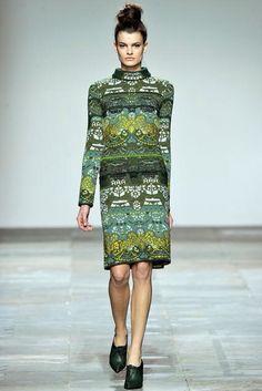 Mary Katrantzou Fall 2012 Ready-to-Wear