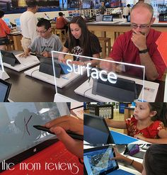 My family is hooked on the Surface tablet by Microsoft!