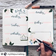 "3,061 mentions J'aime, 21 commentaires - Ryder Carroll (@bulletjournal) sur Instagram: ""#Repost @mylittlejournalblog (@get_repost) ・・・ Ya habéis preparado el bullet de la próxima semana?…"""