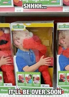 Elmo is evil I tell you!