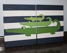 alligator nursery alligator madras alligator decor crocodile nursery wall decor alligator wall art decor jungle nursery alligator wall art