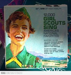 Apparently Justin Bieber was a girl scout in the 60s