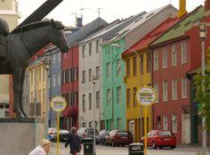 CITY YEAST -Reykjavík 雷克雅維克 冰島 worldwide city color 都市色彩世界觀 google map