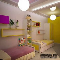 Teenage room ideas for mixed twins
