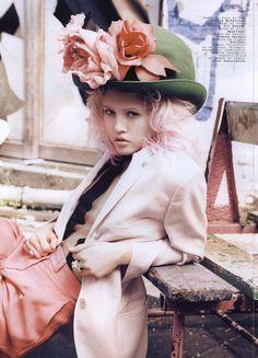 Magazine : Jalouse, June 2011  Photography : Paul Schmidt  Stylist : Anne Sophie Thomas  Model : Charlotte Free  Hair stylist : Anthony Preel  Makeup artist : Anthony Preel