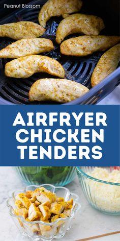 Chicken Marinade Recipes, Best Chicken Recipes, Turkey Recipes, Easy Meals For Kids, Kids Meals, Chicken Tenderloins, Air Fryer Healthy, Air Fryer Recipes, Kid Friendly Meals