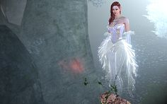 ghostly costume archeage - Google Search Fantasy World, Girly Things, Costumes, Wedding Dresses, Game, Google Search, Fashion, Girl Things, Bride Dresses