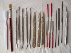 Carving tools | Flickr - Photo Sharing!