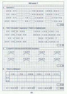 Gyere mesélj! - Képgaléria - Sulis feladat lapok (alsó tagozat) - Kiszámoló 4. osztály Math Equations, Words, Horse