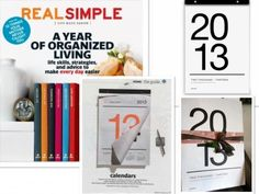 Our Tissue Calendar Featured in Real Simple!