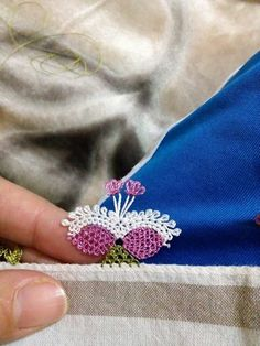 This post was discovered by La Lace Art, Passementerie, Needle Lace, Lace Making, Needlework, Knots, Diy And Crafts, Turkey, Lace