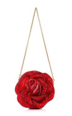 Judith Leiber American Beauty New Rose Clutch by JUDITH LEIBER for Preorder on Moda Operandi