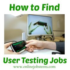 User testing jobs are another easy way to make some extra money online. These jobs are simple and quick and require no experience and very little technical skill.