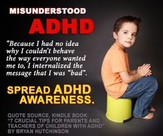Spread ADHD Awareness. Share this.
