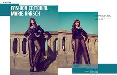 photographer: MARIE BÄRSCH |   styling: MICHAEL HASTREITER |   hair & make-up: INES SCHULT | model: KIM LYA