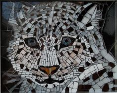 Tiffany Leaded Stained Glass & Mosaics - Maine Mosaic Art Susan Begin Mosaic Wall Art, Tile Art, Mosaic Tiles, Mosaic Crafts, Mosaic Projects, Mosaic Designs, Mosaic Patterns, Stained Glass Art, Mosaic Glass