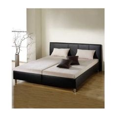 This big double bed will bring harmony and a cosy atmosphere into your bedroom.