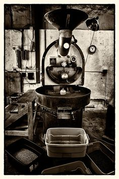 Probat Coffee Roaster, via Flickr.
