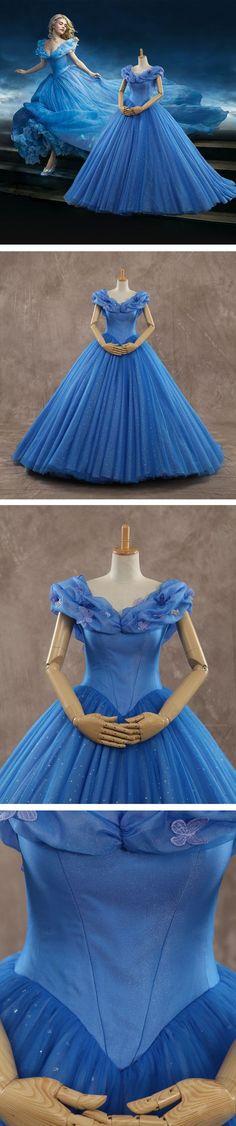 Quem nunca quis vestir o vestido da cinderela