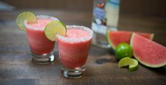 Chill out with this delightful frozen adult drink that you can customize with your rum or tequila of choice.