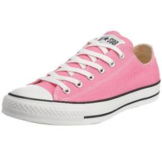 Converse Unisex Chuck Taylor All Star Low Top Sneakers Pink 5 D(M) US: Old school never looked so fly. Rep your era to the fullest in a pair of these classic Chucks from Converse. Converse Chucks, Converse All Star Ox, Converse Chuck Taylor All Star, Chuck Taylor Sneakers, Sneakers Mode, Pink Sneakers, Sneakers For Sale, Sneakers Fashion, Fashion Shoes