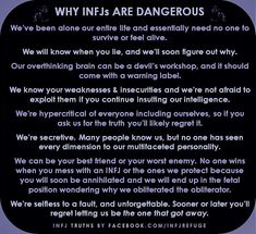 """Idk about that """"unforgettable"""", """"one that got away"""" business. but yeah everything else checks out Infj Traits, Infj Mbti, Intj And Infj, Infj Type, Enfj, Extroverted Introvert, Myers Briggs Infj, Myer Briggs, Infp Personality"""