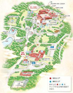 施設の全体地図 | 施設紹介 | 首里城公園 ‐ 琉球王国の栄華を物語る 世界遺産 首里城