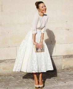 sukienka z koła midi