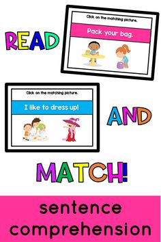 Are your students REALLY comprehending? These sentence comprehension task cards will help you learn more about your early readers! Students apply phonics and sight word knowledge (plus a few laughs) with these digital Boom Cards!
