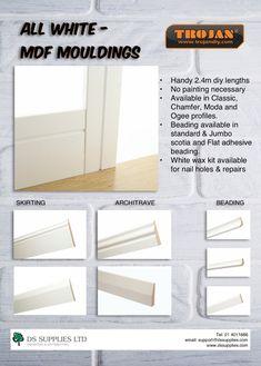 Waxing Kit, Architrave, Nail Holes, All White, Adhesive, Flooring, Wood Flooring, Floor