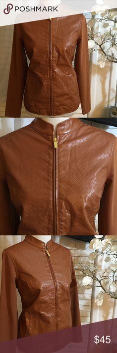 LIZ CLAIBORNE JACKET Stunning jacket, excellent condition, made of polyurethane and rayon Liz Claiborne Jackets & Coats Blazers