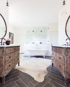Wood Look Tile- Grey Pepper Porcelain Tile interiors by Redo Interior Design  ©AlyssaRosenheck2015-23.jpg