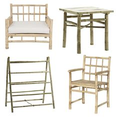Bamboo furniture by Tine K Home