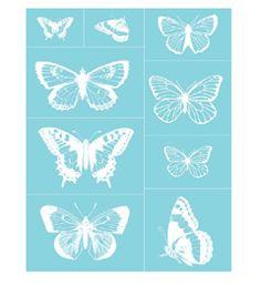 Martha Stewart Crafts™ Glass Silkscreen - Butterflies