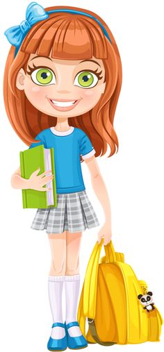 в школе Dibujos - Clipart - Digi stamps - School - Girl - Escuela - NiñaDibujos - Clipart - Digi stamps - School - Girl - Escuela - Niña Girl Clipart, Cute Clipart, School Clipart, Digi Stamps, Cartoon Kids, Kids Education, Cartoon Characters, Art Girl, Art Lessons