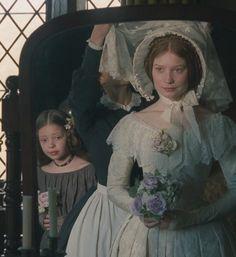 Mia Wasikowska, Jane Eyre - Jane Eyre (2011) #charlottebronte #caryfukunaga Costume Design by Michael O'Connor