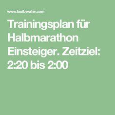 Mein Ziel: Trainingsplan für Halbmarathon Einsteiger. Zeitziel: 2:20 bis 2:00 28.06.2017: Halbmarathon in 2: 08 geschafft!