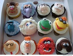 Muppet Cupcakes.  Technically not really a book ... but there have been Muppet books.  And they're fabulous!)