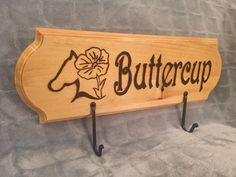Custom Engraved, Personalized Horse Bridle or Halter Rack by HorseHopes on Etsy