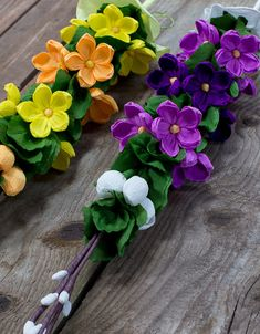 Flower Crafts, Diy Flowers, Acrylic Flowers, Crepe Paper Flowers, Easter Crafts, Greenery, Vines, Garland, Diy And Crafts