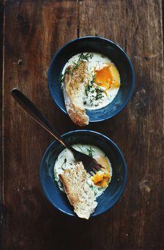 Eggy comfort bowls