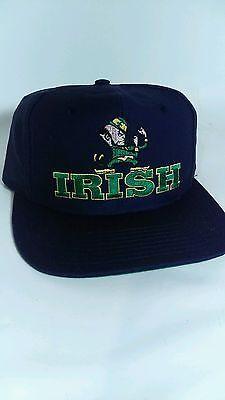 Vintage Notre Dame Fighting Irish Snapback Hat Cap Twins Enterprise 1990 s  vtg cc72a811def7