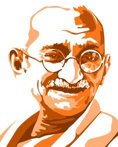 My Art Work... Mahatma Gandhi
