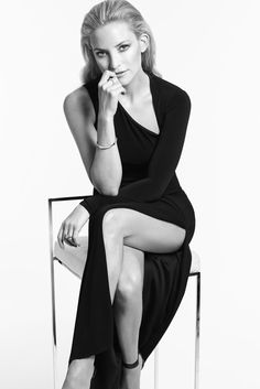 Kate Hudson in one of the LBDs for Ann Taylor. [Courtesy Photo]