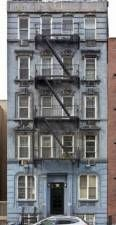texture new york united states usa residential old building facade