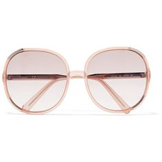 Chloé Myrte square-frame acetate sunglasses (12.730 RUB) ❤ liked on Polyvore featuring accessories, eyewear, sunglasses, peach, uv protection sunglasses, chloe glasses, square frame glasses, chloe sunglasses and chloe eyewear