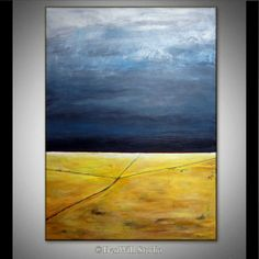 HUGE Abstract Painting ORIGINAL Modern Landscape by benwill, $1050.00